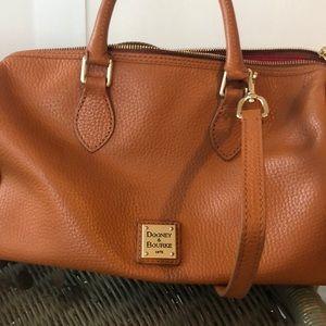 Dooney and Burke handbag. Camel brown.